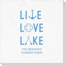 Live, Love, Lake Deville Napkins