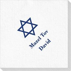 Traditional Star of David Deville Napkins