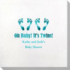 Seeing Double Twinkle Toes Bamboo Luxe Napkins