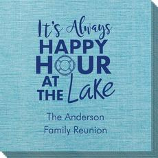 Happy Hour at the Lake Bamboo Luxe Napkins