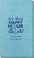 Happy Hour at the Lake Bamboo Luxe Guest Towels