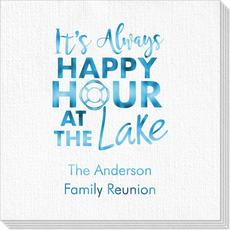 Happy Hour at the Lake Deville Napkins