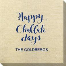 Happy Challah Days Bamboo Luxe Napkins