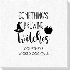 Something's Brewing Witches Deville Napkins