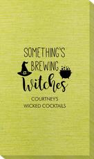 Something's Brewing Witches Bamboo Luxe Guest Towels