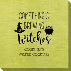 Something's Brewing Witches Bamboo Luxe Napkins
