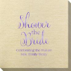 Shower The Bride Bamboo Luxe Napkins