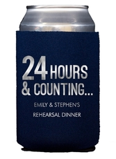 24 Hours and Counting Collapsible Koozies