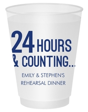 24 Hours and Counting Shatterproof Cups
