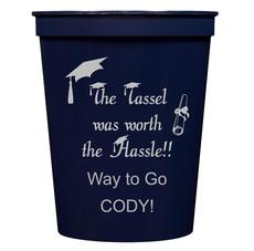 Tassel Hassle Stadium Cups