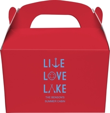 Live, Love, Lake Gable Favor Boxes