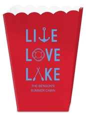 Live, Love, Lake Mini Popcorn Boxes