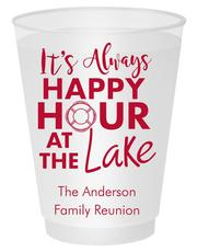 Happy Hour at the Lake Shatterproof Cups