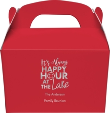 Happy Hour at the Lake Gable Favor Boxes