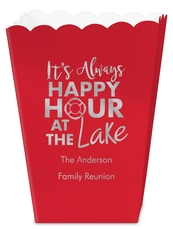 Happy Hour at the Lake Mini Popcorn Boxes