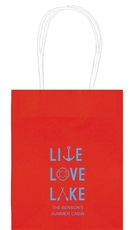 Live, Love, Lake Mini Twisted Handled Bags