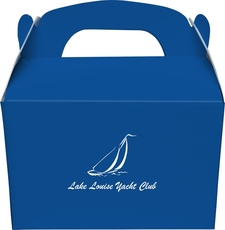 Sailboat Clipper Gable Favor Boxes