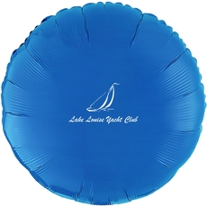 Sailboat Clipper Mylar Balloons