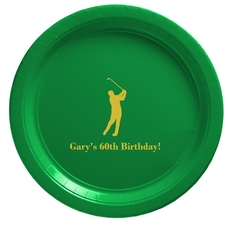 Golf Day Paper Plates