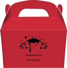 Grad Party Gable Favor Boxes