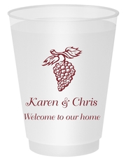 Vineyard Grapes Shatterproof Cups
