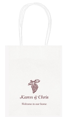Vineyard Grapes Mini Twisted Handled Bags