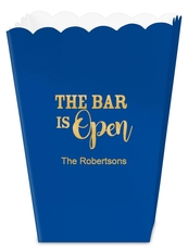 The Bar is Open Mini Popcorn Boxes