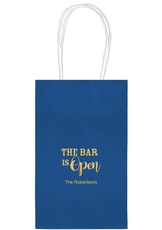 The Bar is Open Medium Twisted Handled Bags