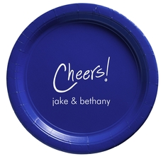 Fun Cheers Paper Plates