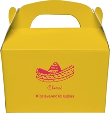 Sombrero Large Favor Boxes