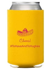 Sombrero Collapsible Koozies