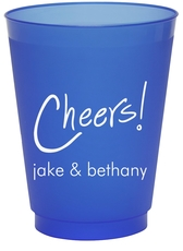 Fun Cheers Colored Shatterproof Cups