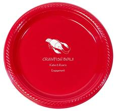 Crawfish Plastic Plates