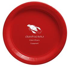 Crawfish Paper Plates