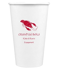 Crawfish Paper Coffee Cups