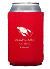 Crawfish Collapsible Koozies