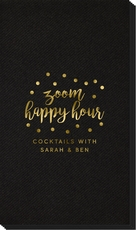 Confetti Dot Zoom Happy Hour Linen Like Guest Towels