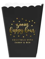 Confetti Dot Zoom Happy Hour Mini Popcorn Boxes