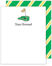 Tee It Up Flat Note Cards
