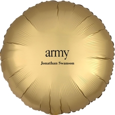 Big Word Army Mylar Balloons