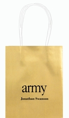 Big Word Army Mini Twisted Handled Bags