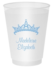 Diamond Crown Shatterproof Cups