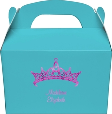 Diamond Crown Gable Favor Boxes