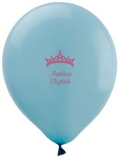 Diamond Crown Latex Balloons