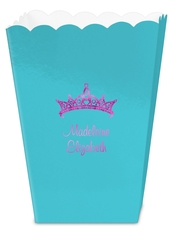 Diamond Crown Mini Popcorn Boxes