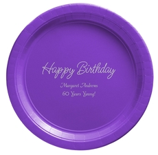 Perfect Happy Birthday Paper Plates