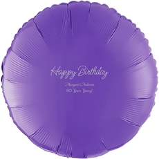 Perfect Happy Birthday Mylar Balloons