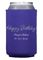 Perfect Happy Birthday Collapsible Koozies