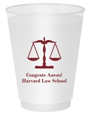 Scales of Justice Shatterproof Cups