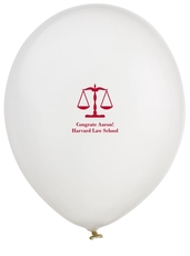 Scales of Justice Latex Balloons
